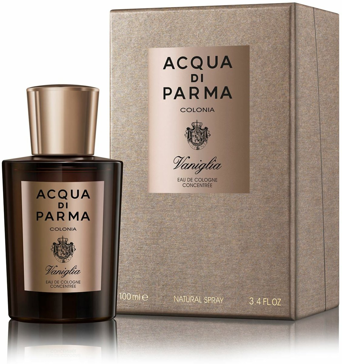 Acqua Di Parma Colonia Vaniglia 100 ml Eau De Cologne Concentree Voor Heren