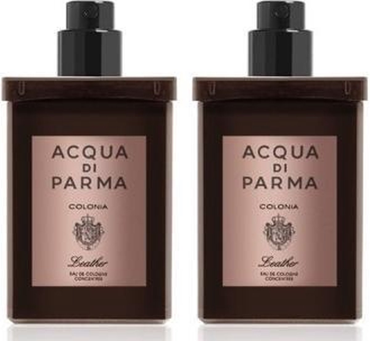 Acqua Di Parma Ingredient Collection Colonia Leather Travel Spray Refills 2x30ml 2ml