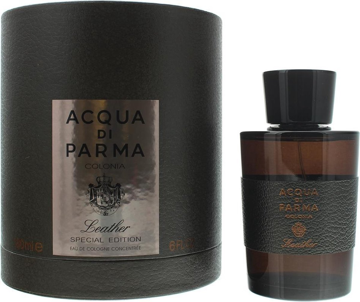 Acqua di Parma Colonia Leather Eau de Cologne Concentree 180ml Spray - Special Edition