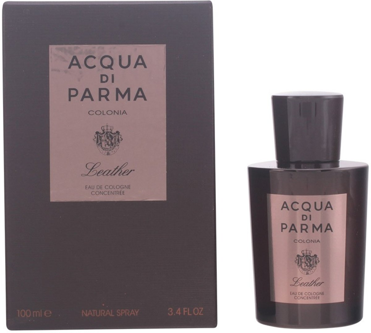 MULTI BUNDEL 2 stuks - Acqua Di Parma - LEATHER - eau de cologne - concentree spray 100 ml