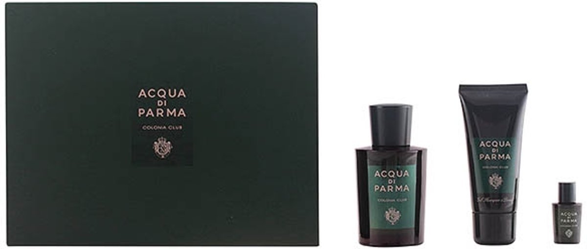 Parfumset voor Heren Colonia Club Acqua Di Parma (3 pcs)