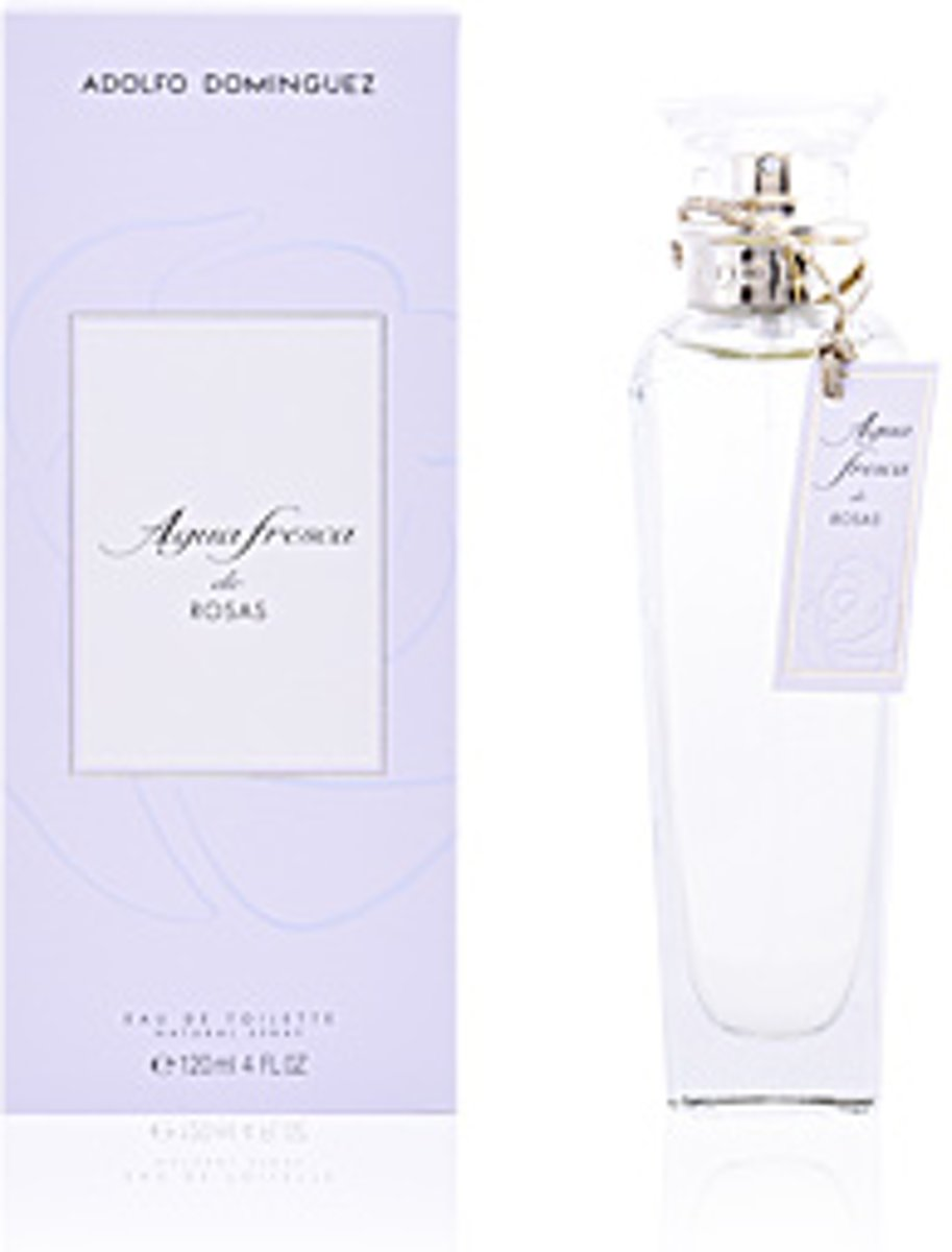 Adolfo Dominguez AGUA FRESCA DE ROSAS edt spray 120 ml
