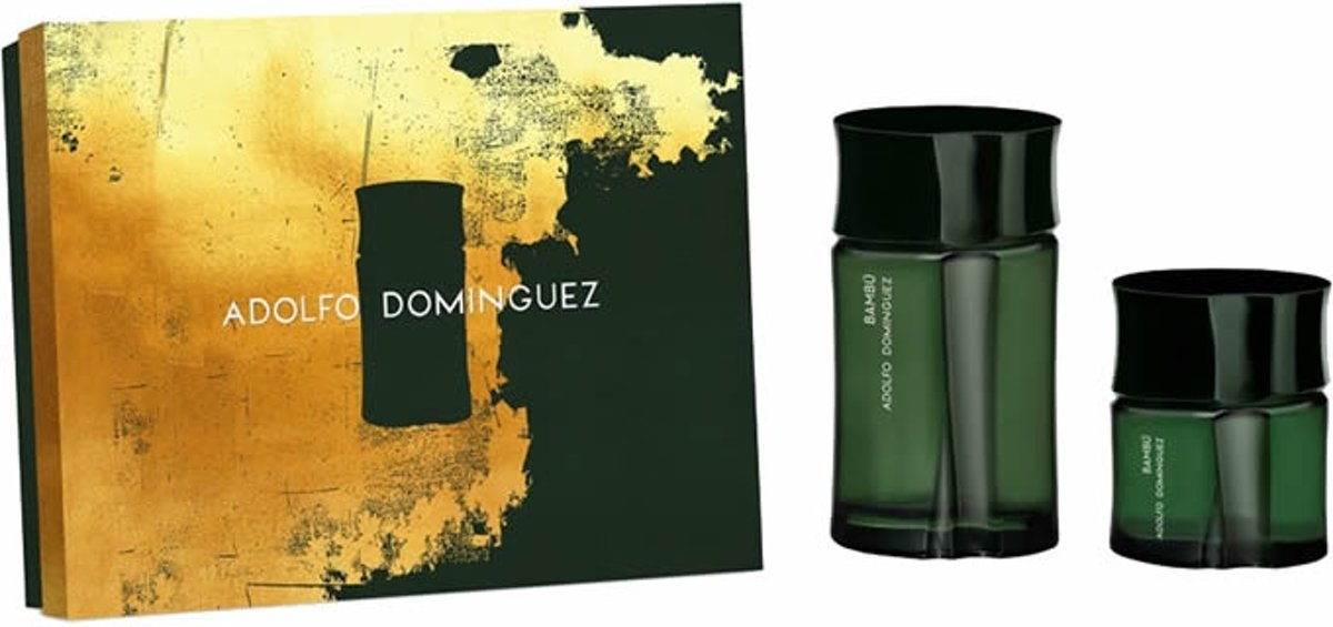 Adolfo Dominguez Bambú Homme Eau De Toilette Spray 120ml Set 2 Pieces 2018