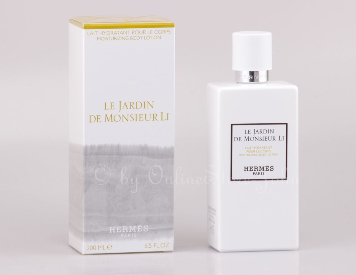 Adolfo Dominguez Hermès Le Jardin de Monsieur Li Mosturizing Body Lotion 200ml