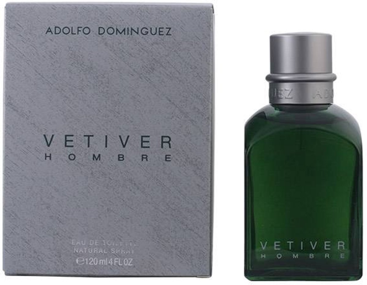 Adolfo Dominguez Vetiver Hombre - 120 ml - Eau de toilette