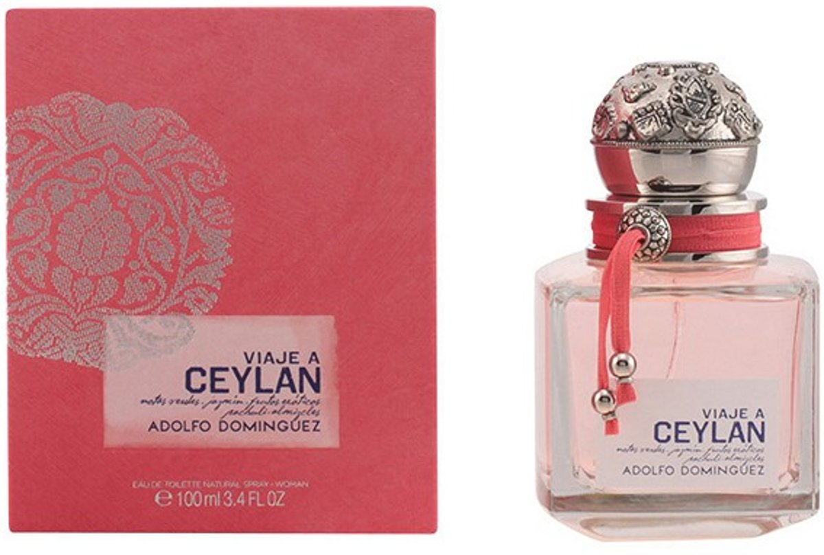 Adolfo Dominguez Viaje a Ceylan Woman - 100 ml - Eau de toilette