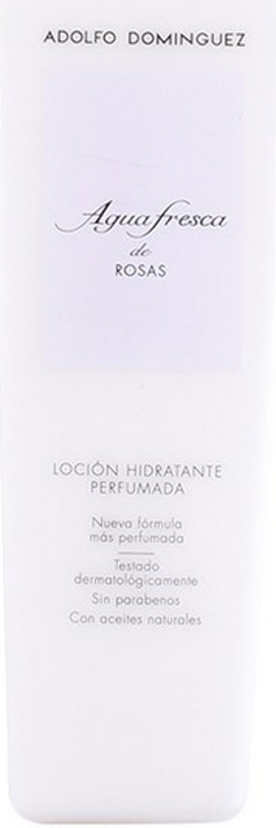 Body Lotion Agua Fresca De Rosas Adolfo Dominguez (500 ml)