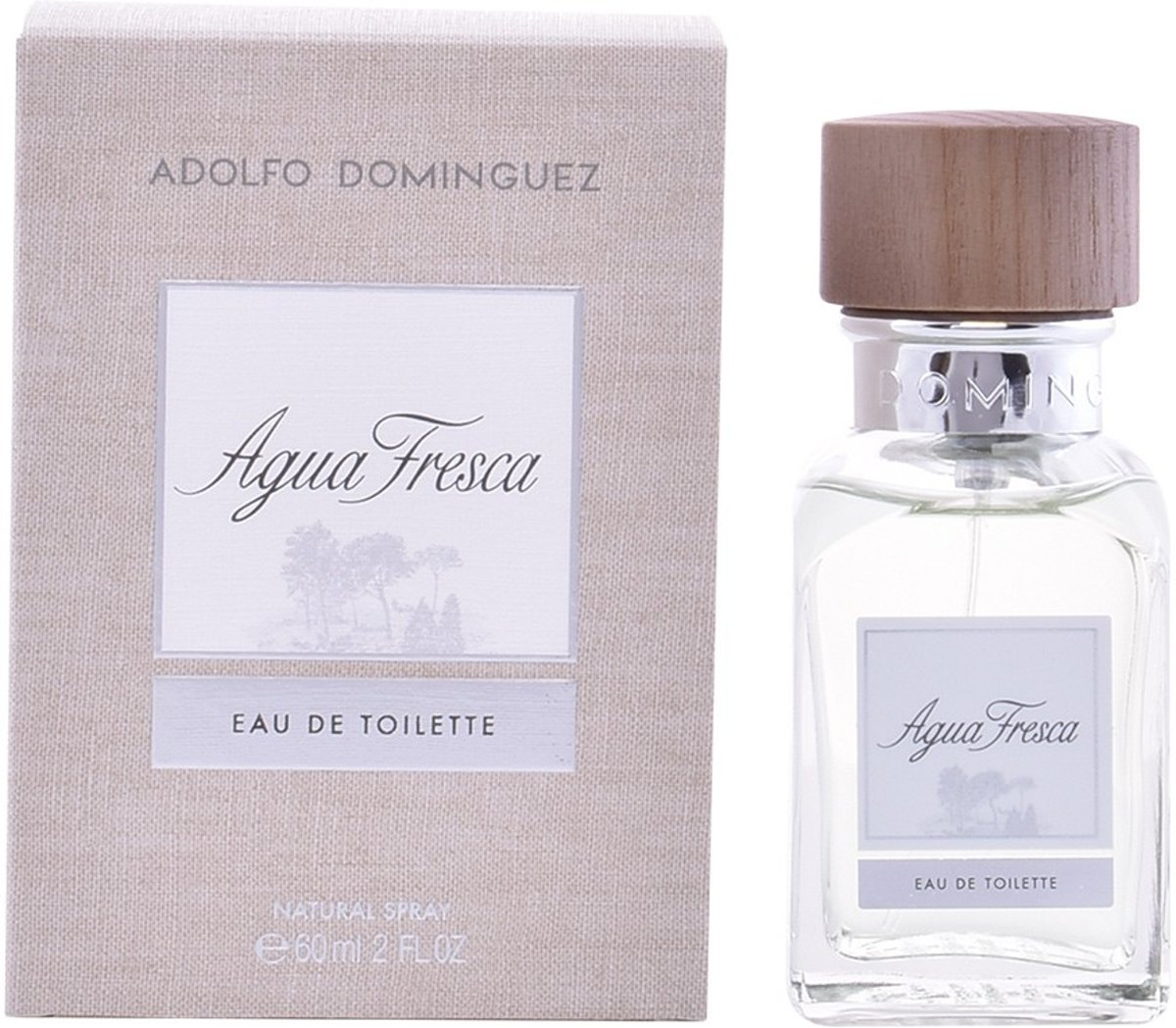 MULTI BUNDEL 2 stuks AGUA FRESCA Eau de Toilette Spray 60 ml