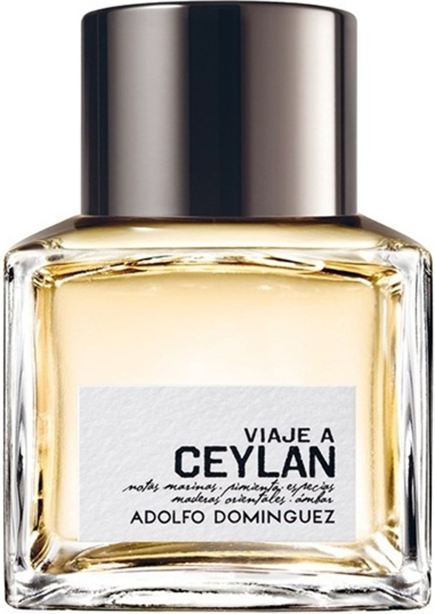 MULTI BUNDEL 2 stuks Adolfo Dominguez Viaje A Ceylan Eau De Toilette Spray 100ml