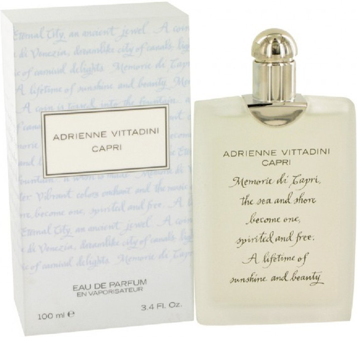 Adrienne Vittadini Capri 100 ml - Eau De Parfum Spray Women