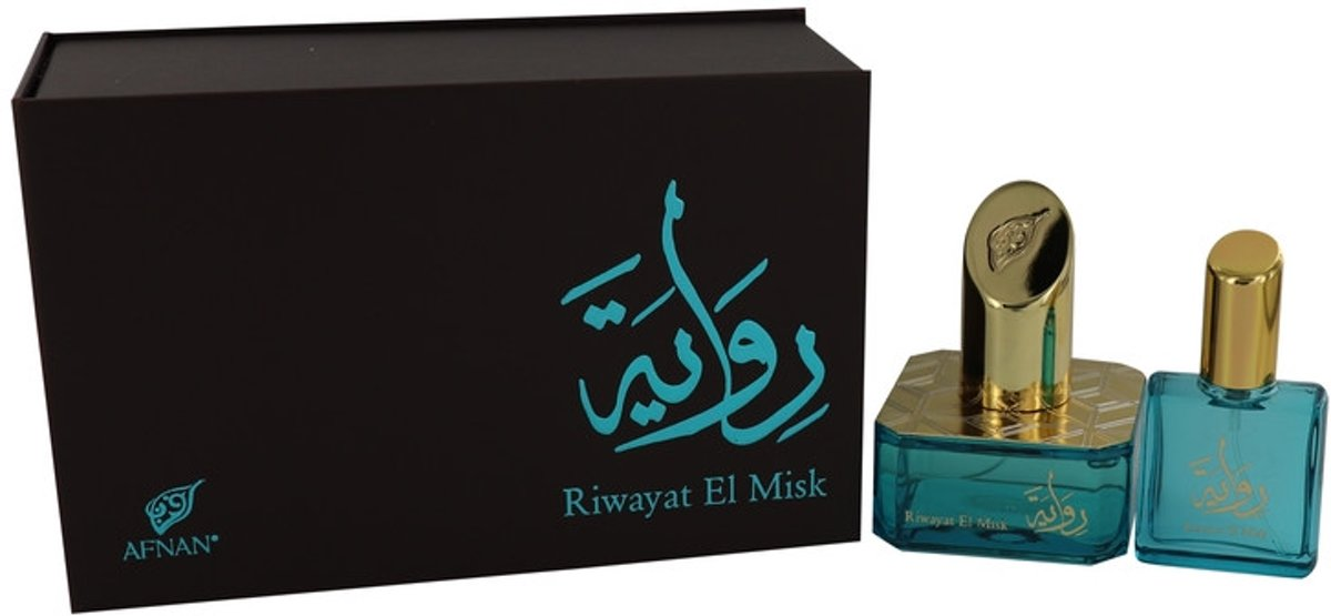 Afnan Riwayat El Misk - Eau de parfum spray 50 ml + 20 ml travel spray