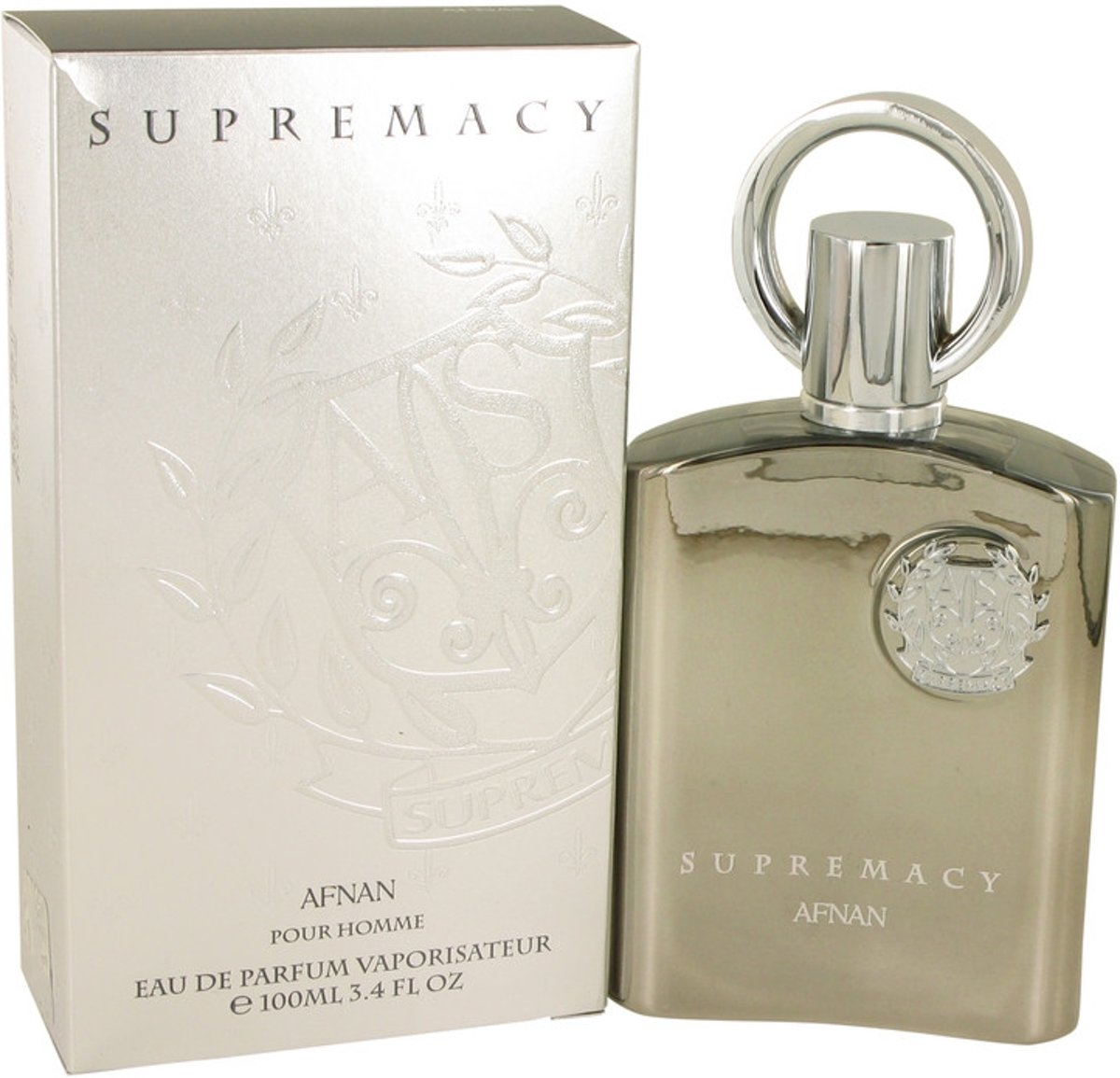 Afnan Supremacy Silver eau de parfum spray 100 ml
