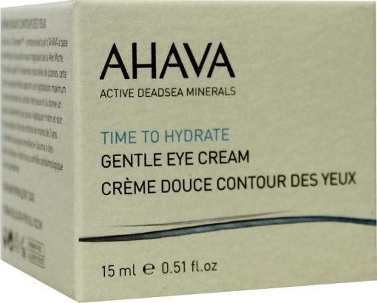 Ahava timt to hydrate gentle eye creme