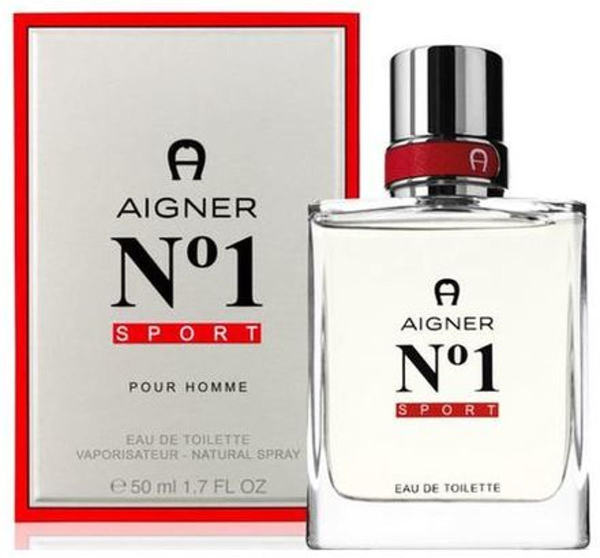 AIGNER NO1 SPORT RED MEN