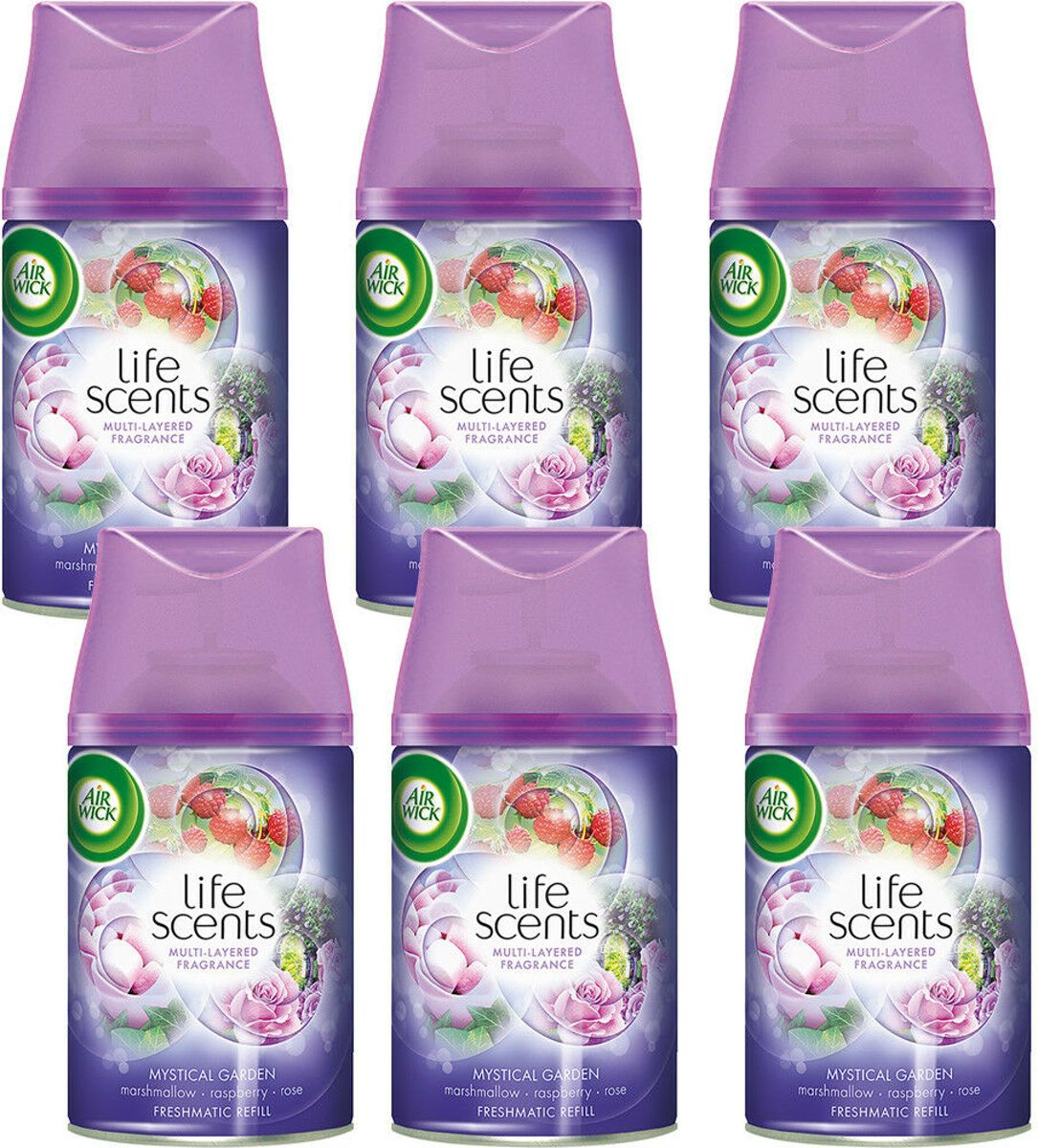 Air Wick Freshmatic navul Mystical Garden -  6 Pack