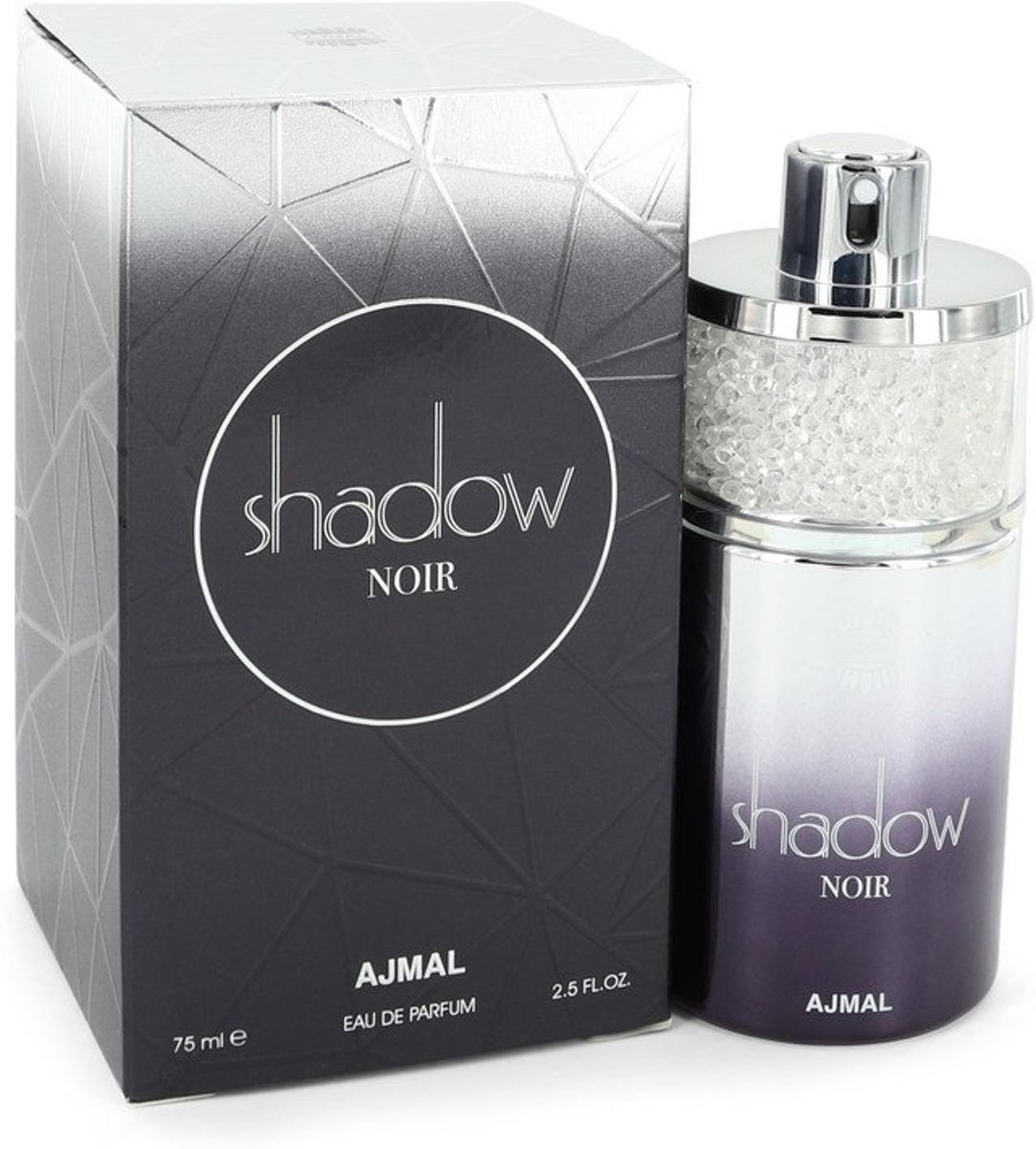 Ajmal Shadow Noir - Eau de parfum spray - 75 ml