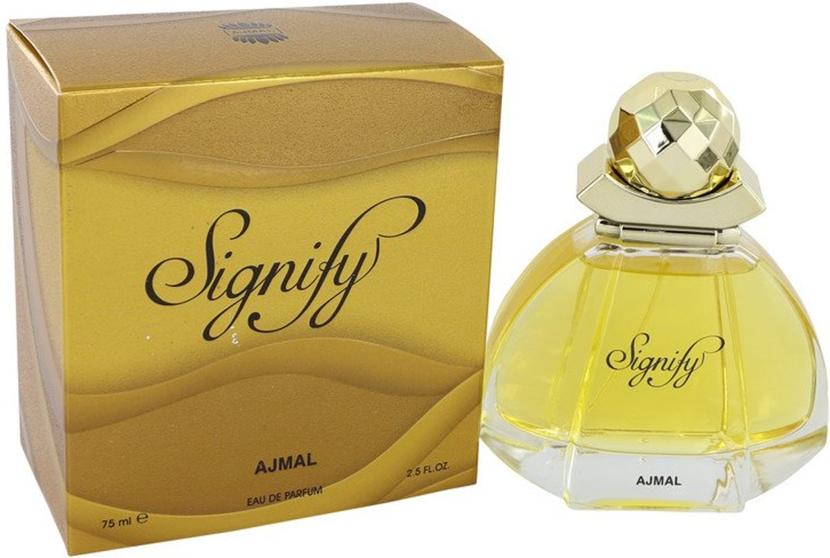 Ajmal Signify eau de parfum spray 75 ml