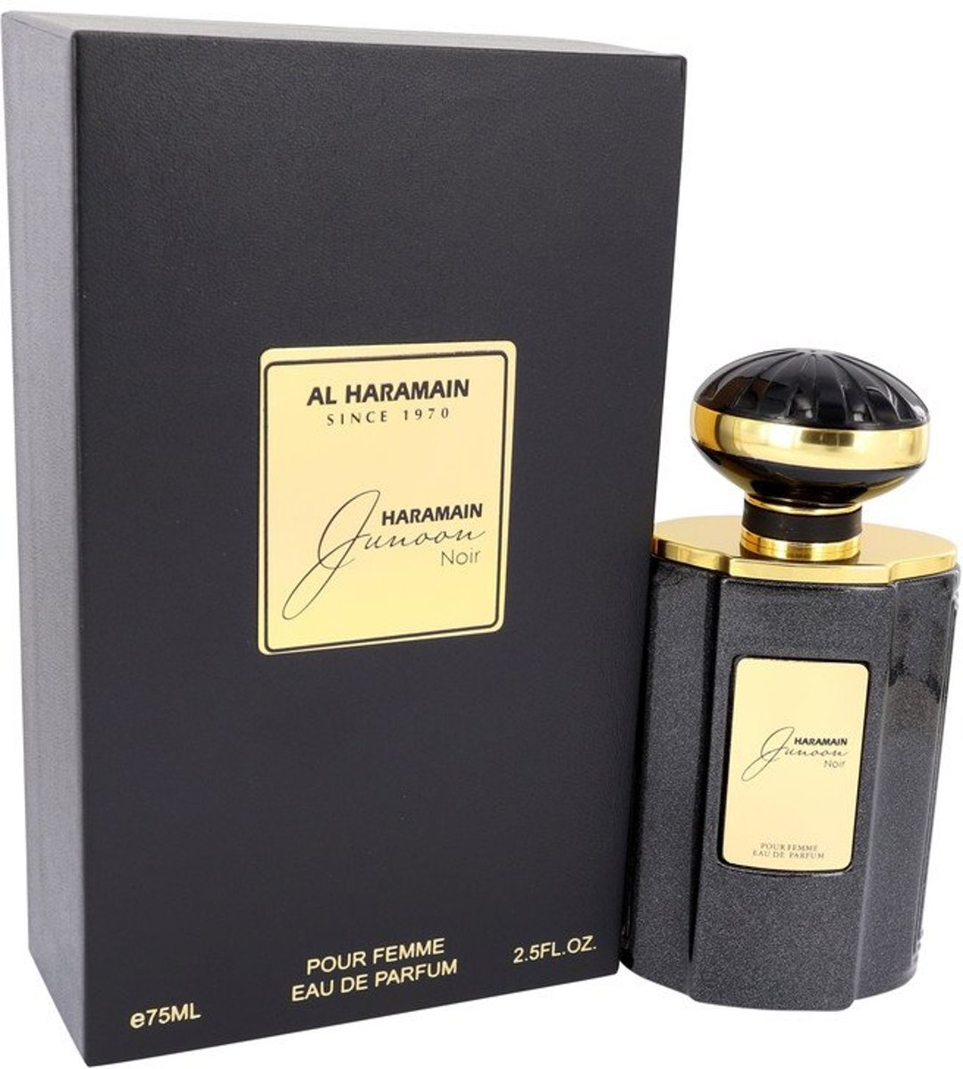 Al Haramain Junoon Noir eau de parfum spray 75 ml