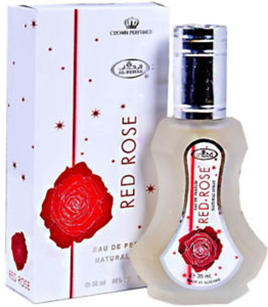 Al Rehab Red Rose Eau de Parfum 35ml by Al Rehab Vaporisateur/Spray