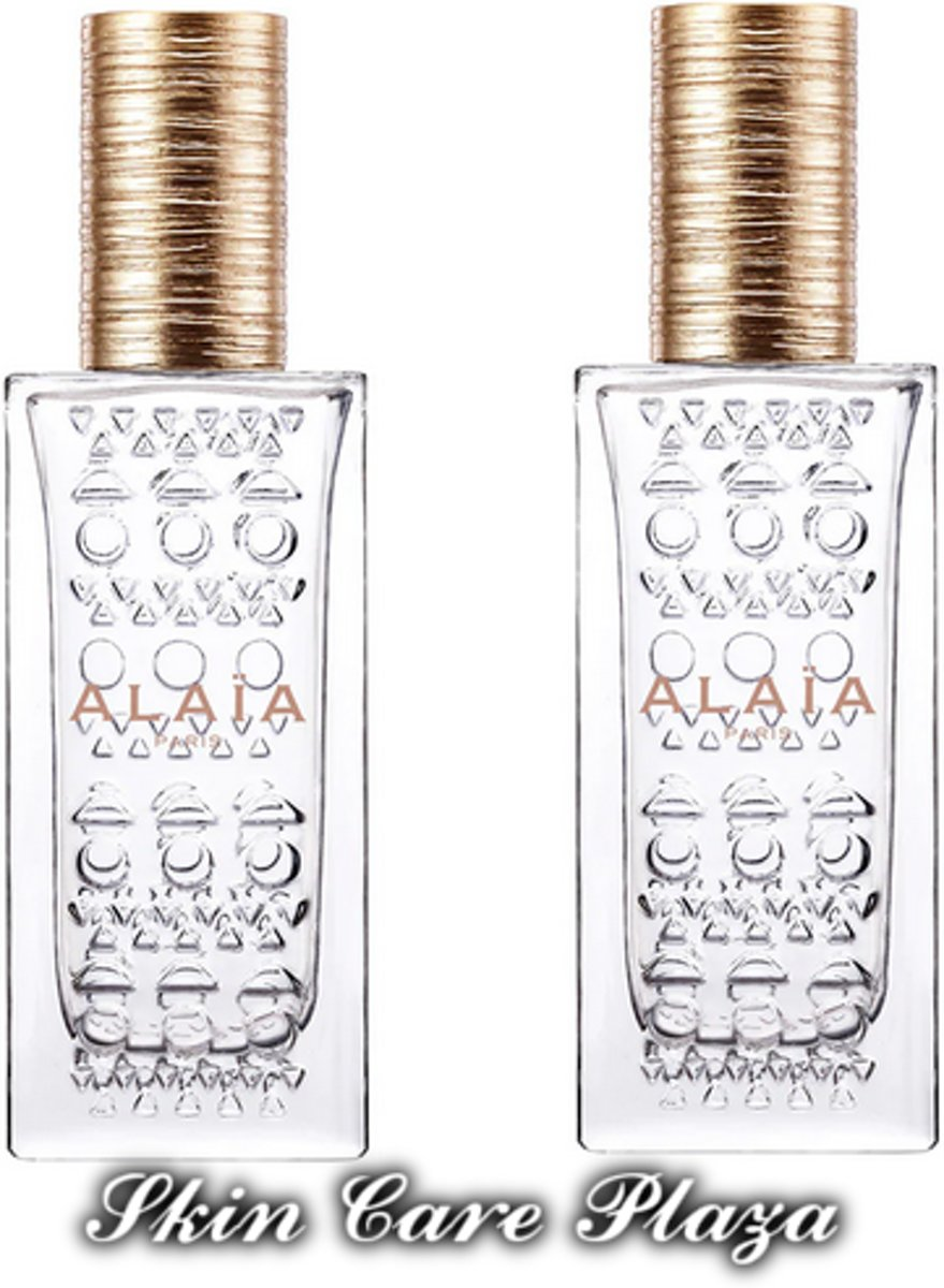 Alaia Blanche Eau De Perfume Spray 50ml MULTI BUNDEL 2 stuks