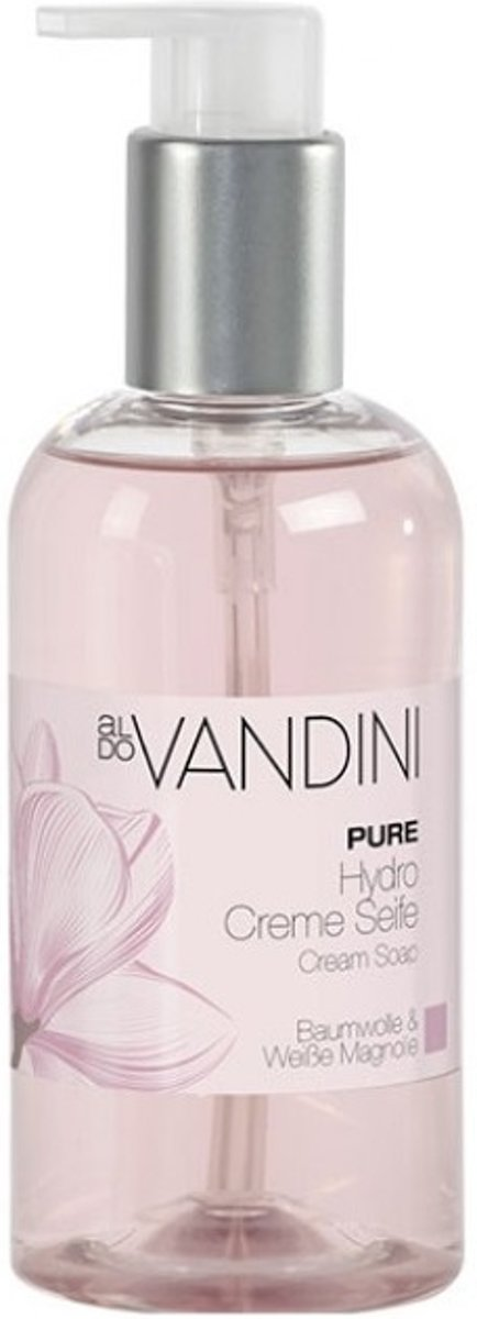 Aldo Vandini Pure cream soap cotton & white magnolia