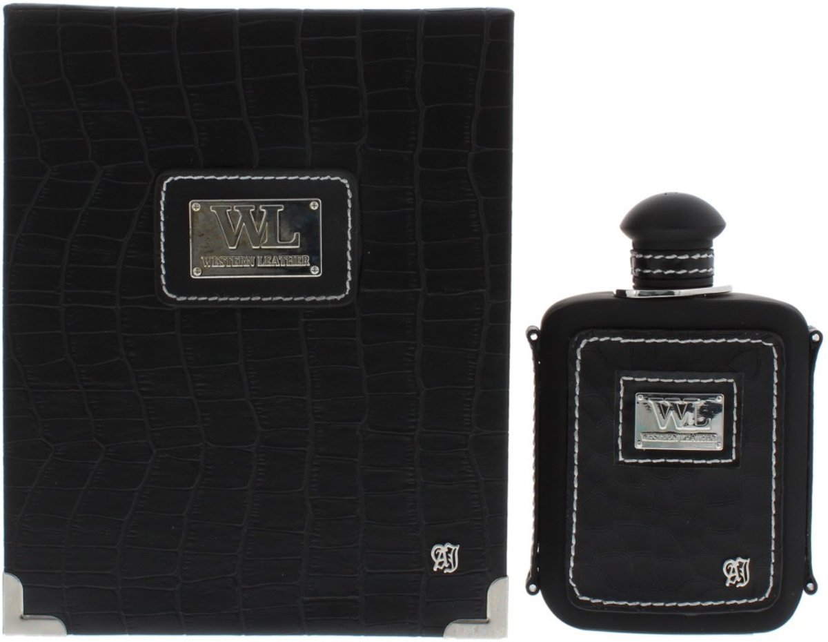 Alexandre J Western Leather Black Edp 100ml Spray