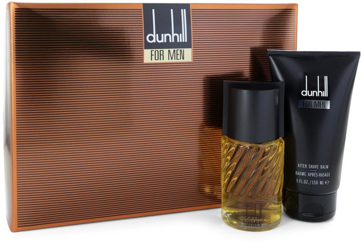 Alfred Dunhill Gift Set -- 3.4 oz Eau De Toilette Spray + 5 oz After Shave Balm