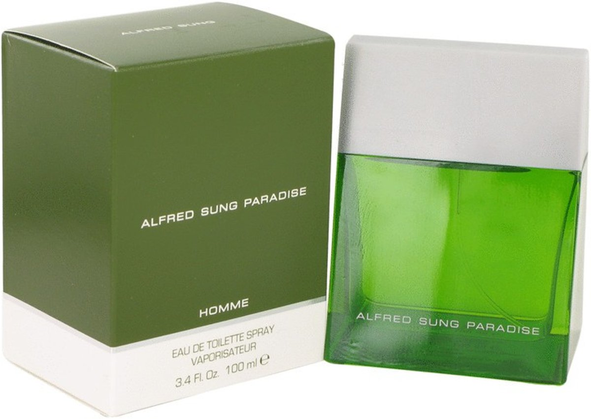 Alfred Sung Paradise 100 ml - Eau De Toilette Spray Men