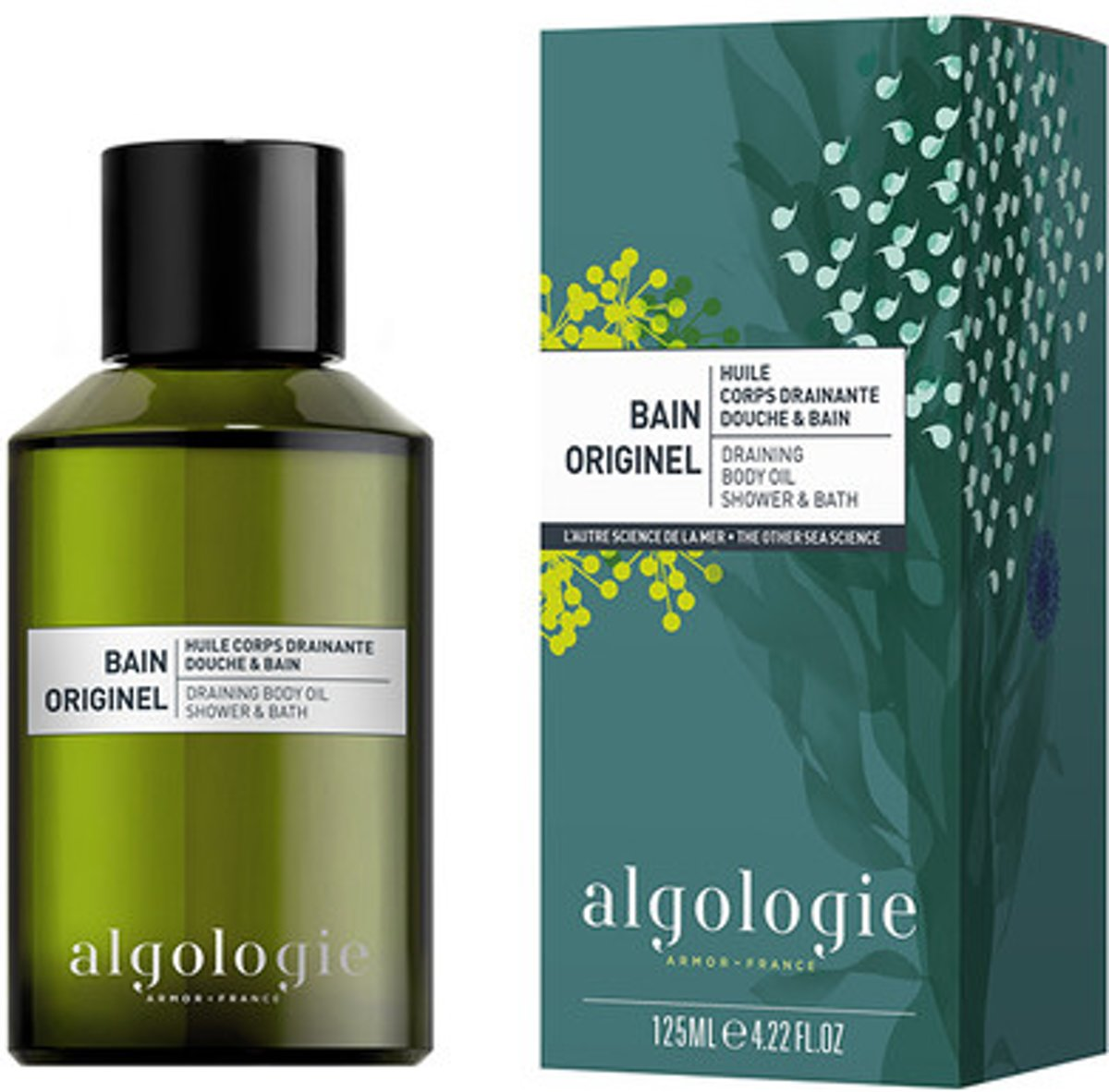 Algologie Bain Originel Draining Body Oil