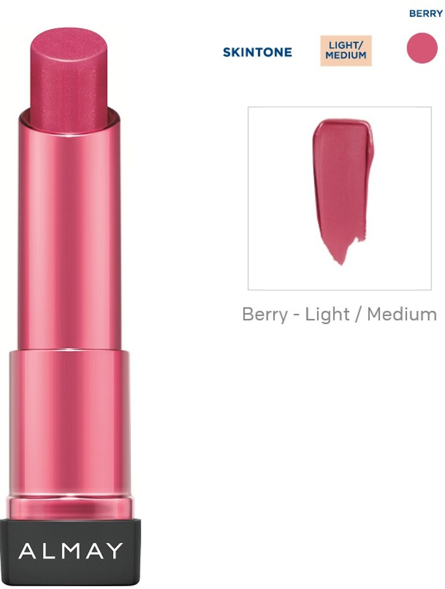 Almay Smart Shade Butter Kiss Lipstick - 50 Berry Light/Medium