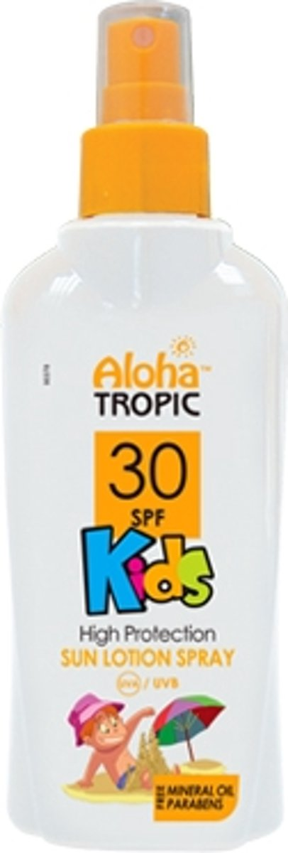 Aloha Tropic Zon Lotion Spray *Kids* SPF30 200ml