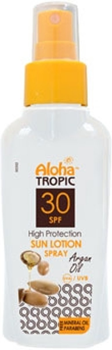 Aloha Tropic Zon Lotion Spray Arganolie *Micro* SPF30 100ml