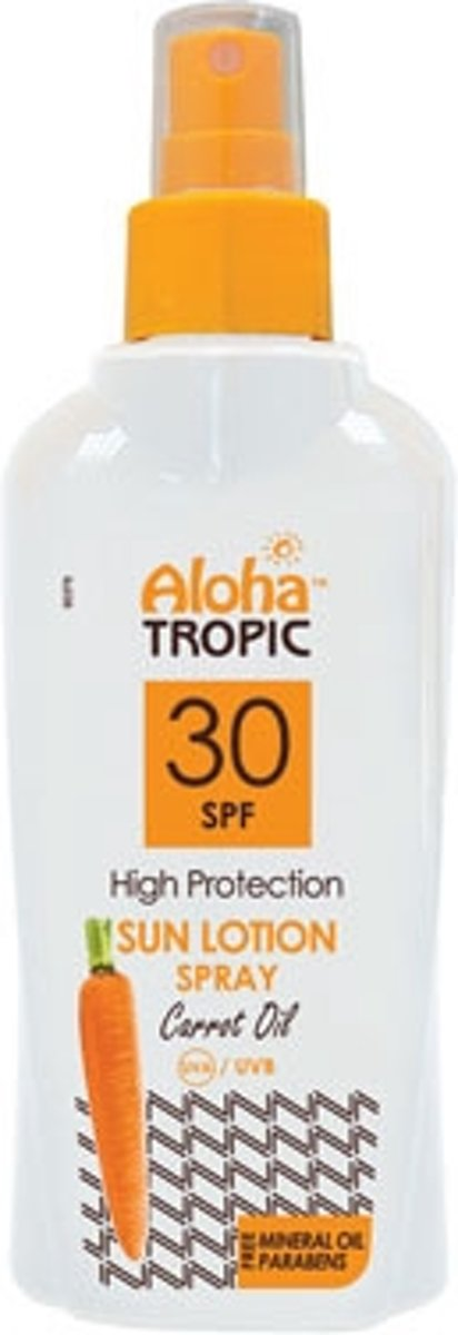 Aloha Tropic Zon Lotion Wortel Spray *SPF30* 200ml