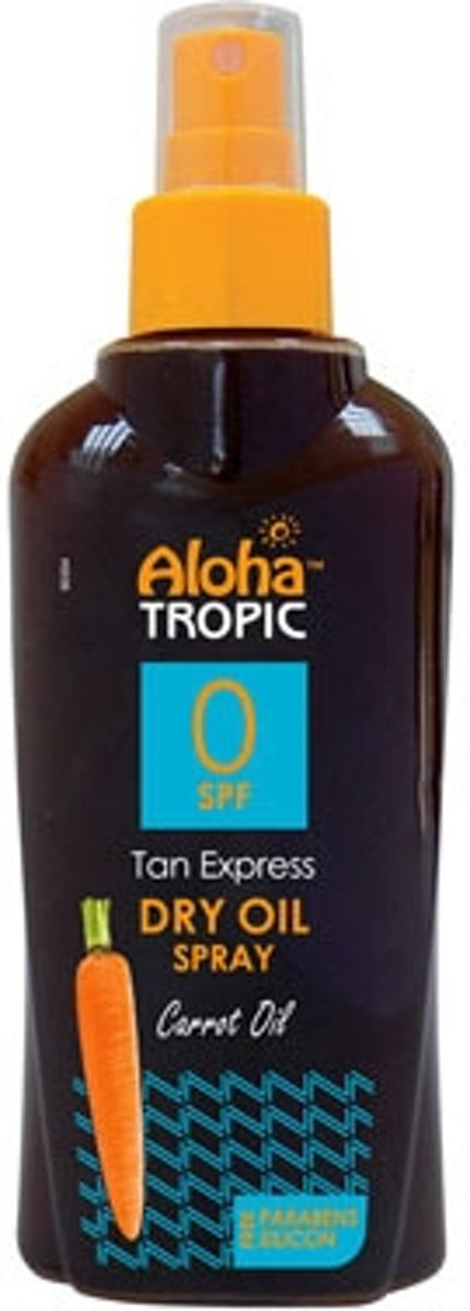 Aloha Tropic Zon Olie *SPF00 Wortel* 200 ml