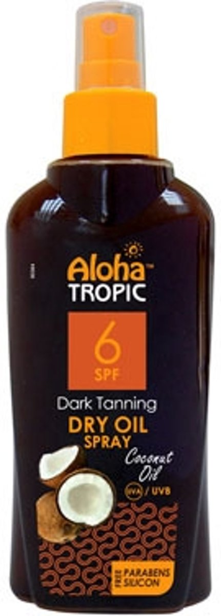Aloha Tropic Zon Olie *SPF06 Kokosnoot* 200ml