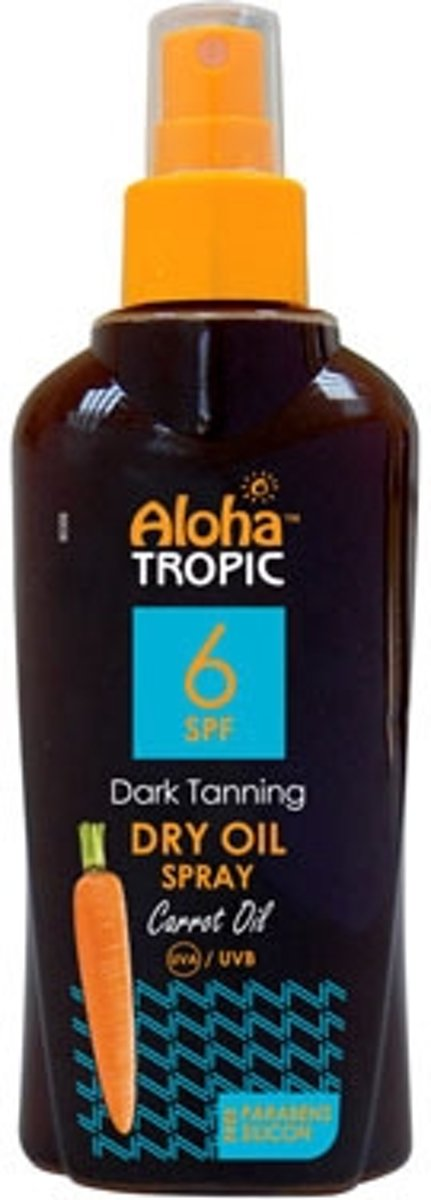 Aloha Tropic Zon Olie *SPF06 Wortel* 200ml