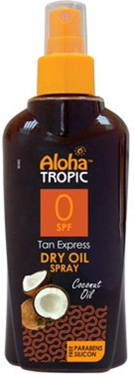 Aloha Tropic Zon Olie Kokosnoot Spray *SPF00* 200ml