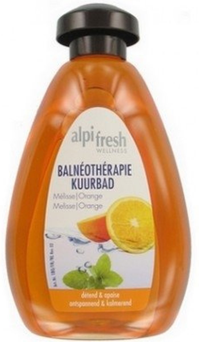 Alpi-Fresh Kuurbad Melisse/Orange 500 ml