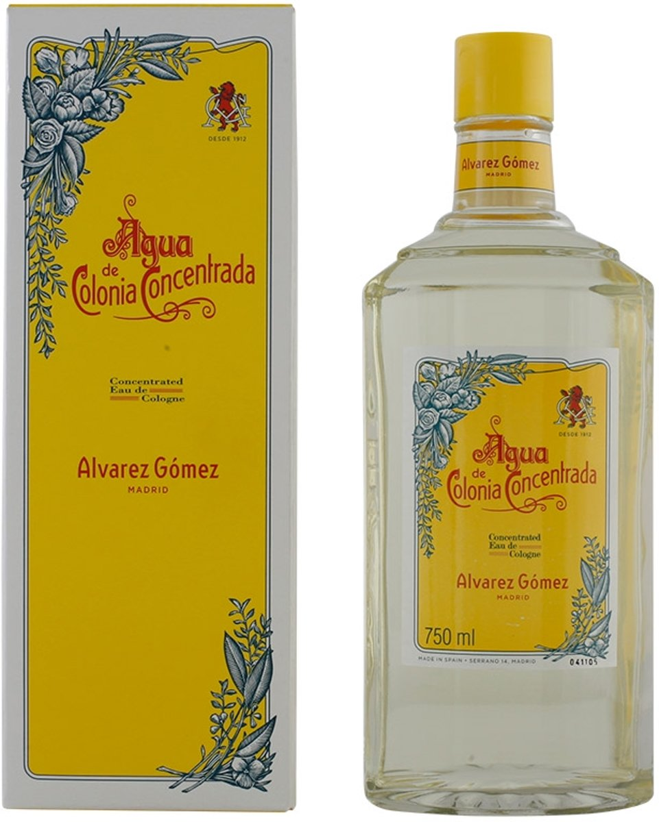 MULTI BUNDEL 2 stuks Alvarez Gomez Eau De Cologne Concentrated 750ml