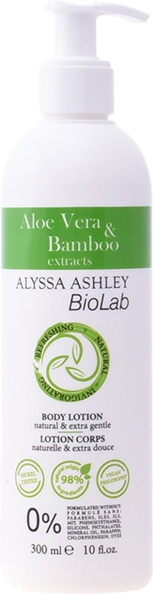 Alyssa Ashley Biolab Aloe Vera And Bamboo Body Lotion 300ml
