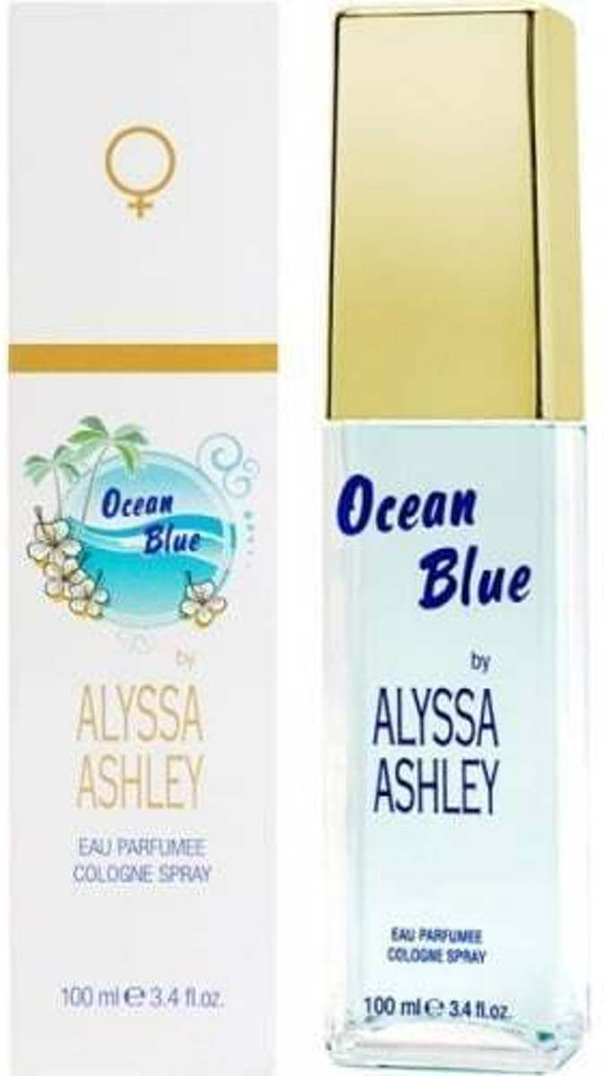 Alyssa Ashley Ocean Blue Eau De Cologne 100ml