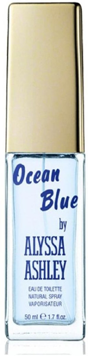 Alyssa Ashley Ocean Blue Eau De Toilette Spray - Zomergeur - 25 ml