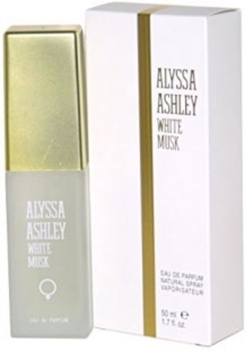 Alyssa Ashley White Musk Eau de Parfum 50ml Spray