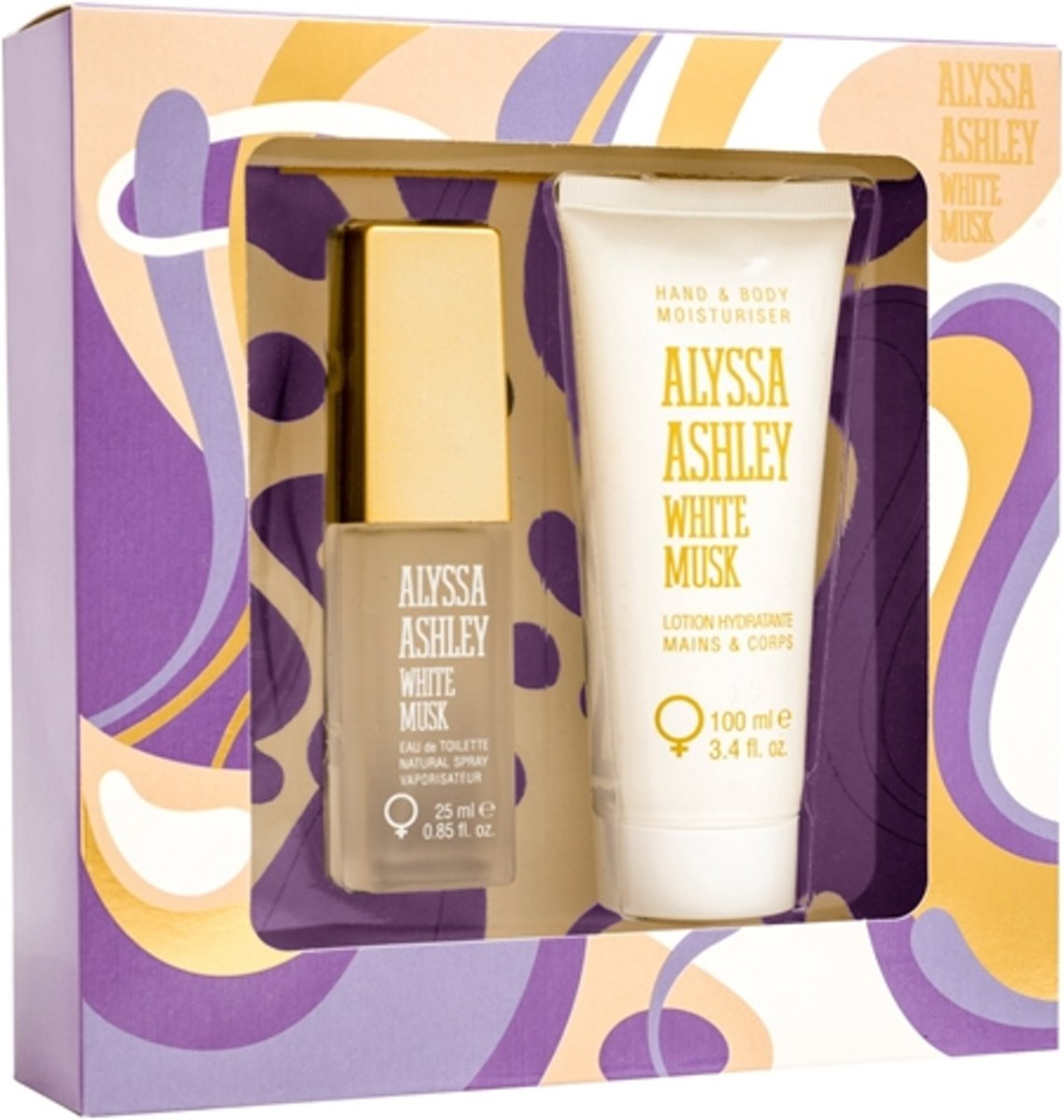 Alyssa Ashley White Musk Gift set 2 st.