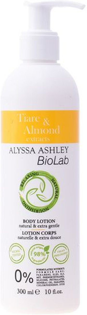 Body Lotion Biolab Tiare & Almond Alyssa Ashley (300 ml)