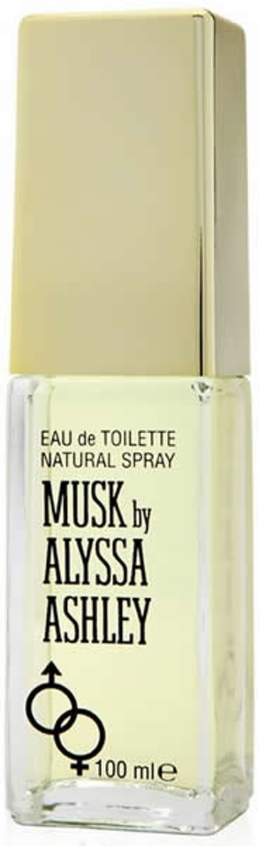 MULTI BUNDEL 2 stuks Alyssa Ashley Musk Eau De Toilette Spray 100ml