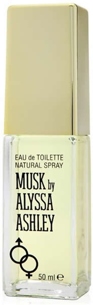 MULTI BUNDEL 2 stuks Alyssa Ashley Musk Eau De Toilette Spray 50ml