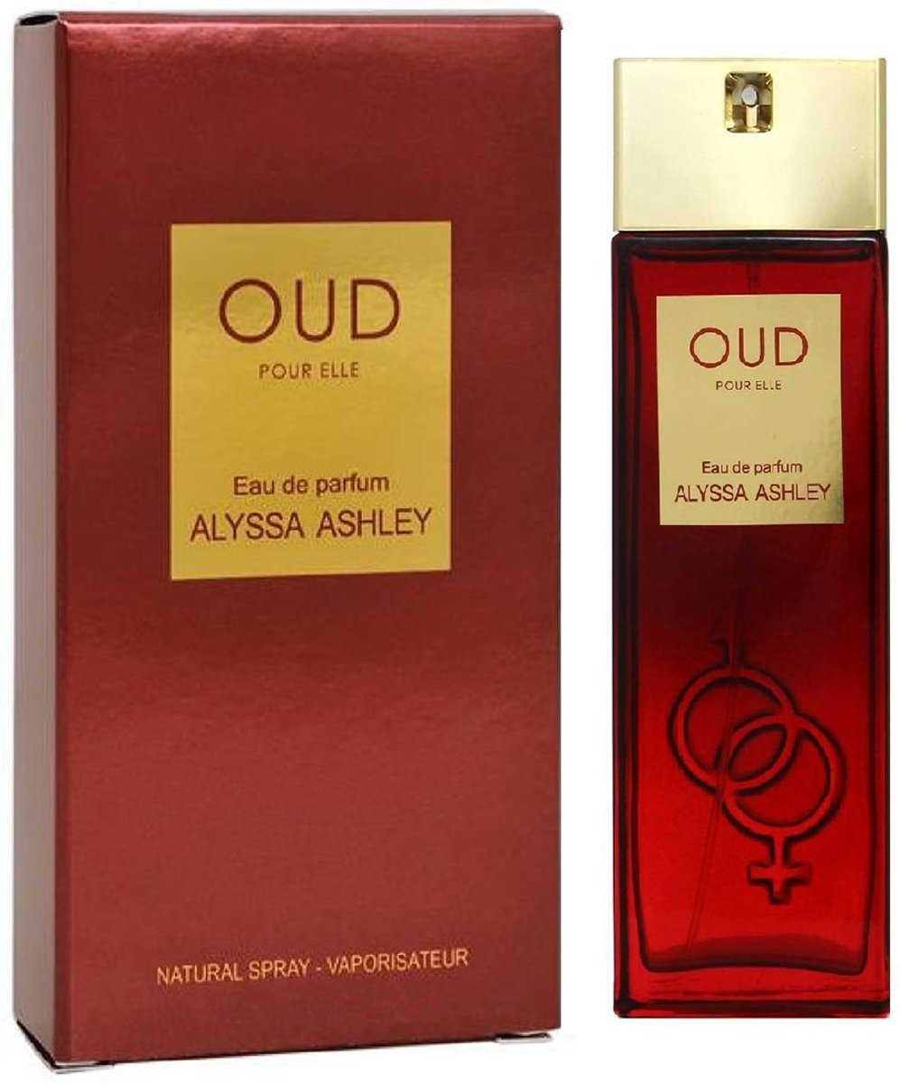 MULTI BUNDEL 2 stuks Alyssa Ashley Oud Pour Elle Eau De Perfume Spray 30ml