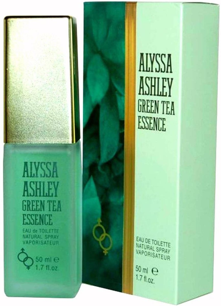 MULTI BUNDEL 3 stuks Alyssa Ashley Green Tea Essence Eau De Toilette Spray 50ml