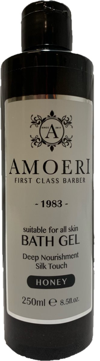 AMOERI FIRST CLASS BARBER | BATH GEL | HONEY